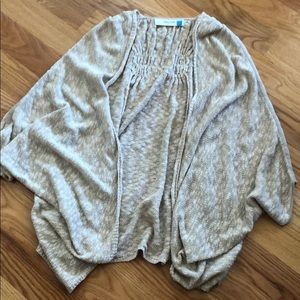 Anthro poncho shawl cardigan